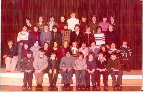 Daliburgh school 3rd year 1978