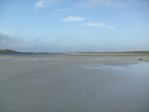 Finally arrived at the beach I wanted to see so much South Uist 31 October 2009 ;o)