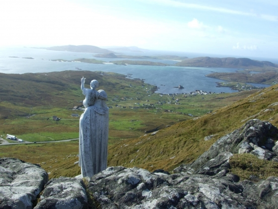 My lovely picture up the Heavel,Isle Of Barra.