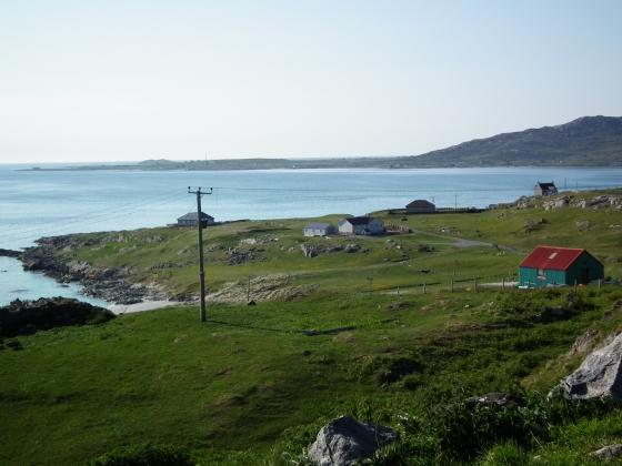 Eriskay June 2013 on our 3rd fishing trip to the islands and start of a great holiday