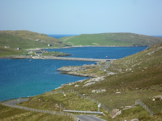Kisimul Castle Barra and Vatersay from Barra