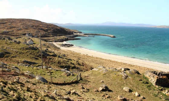 The beach at Eriskay, April 2014
