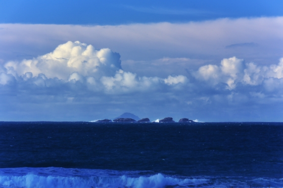 Heisgeir Eagach islands and Boreray.