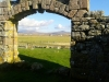 Taken from within the walls of the old chapel at northboisdale